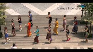 "印尼航空「探索印尼之美」快閃活動 Garuda Indonesia ""Explore the Beauty of Indonesia"" Flash Mob Activity"