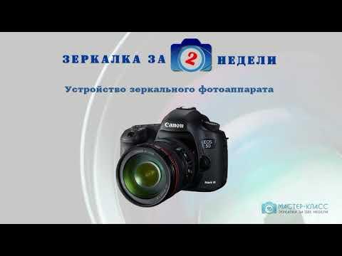 Основы фотографии. Зеркалка