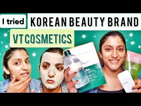 I tried KOREAN BEAUTY BRAND VT Cosmetics and I'm shocked 😳 | VT CICA REVIEW & Korean Skincare