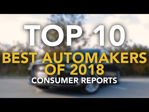 Top 10 Best Automakers: 2018