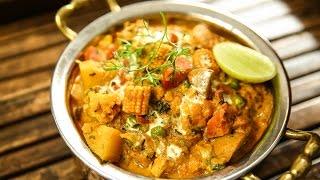 How To Make Veg Handi | Veg Handi Recipe | Restaurant Style Mix Vegetable |Recipe By Varun Inamdar