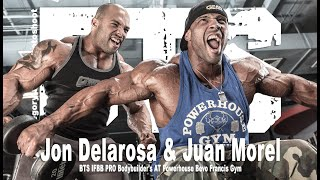 Gregory James BTS |  IFBB PRO Bodybuilder's Jon Delarosa & Juan Morel