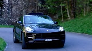 Porsche Macan Turbo | Driving and Sound