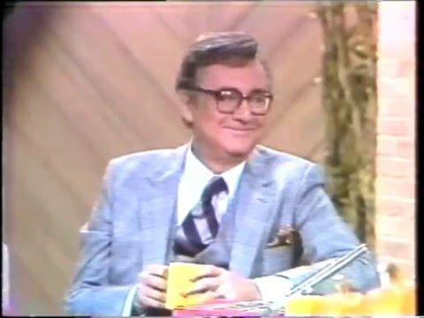 Steve Allen on The David Letterman Show, October 23, 1980