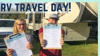 RV SETUP AND TEARDOWN ROUTINE! || RV TRAVEL DAY CHECKLIST ✅