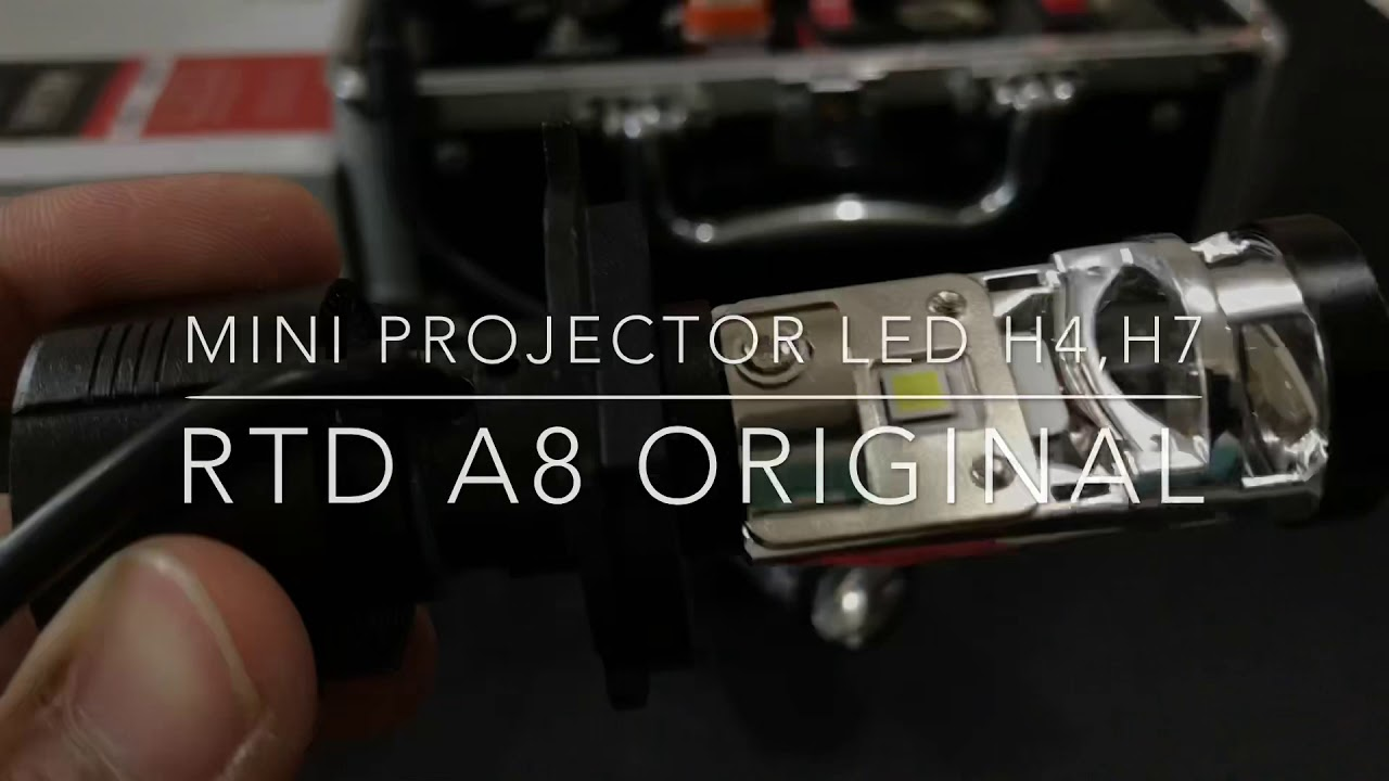 Mini Projector Led H4 H7 Rtd A8 Original Youtube