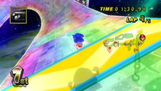[REQUEST] sanic weed speed on rainbow road