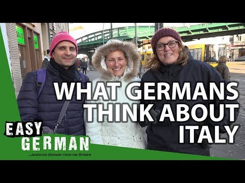 What Germans think of Italy | Easy German 232