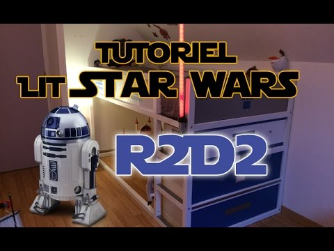 diy customiser un lit enfant en lit star wars how to pimp your kid 39 s bed star wars youtube. Black Bedroom Furniture Sets. Home Design Ideas