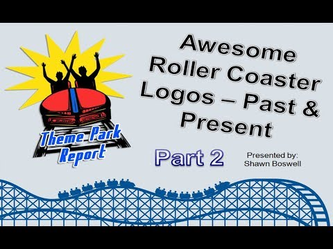 Theme Park Report - Awesome Roller Coaster Logo Designs Part Two