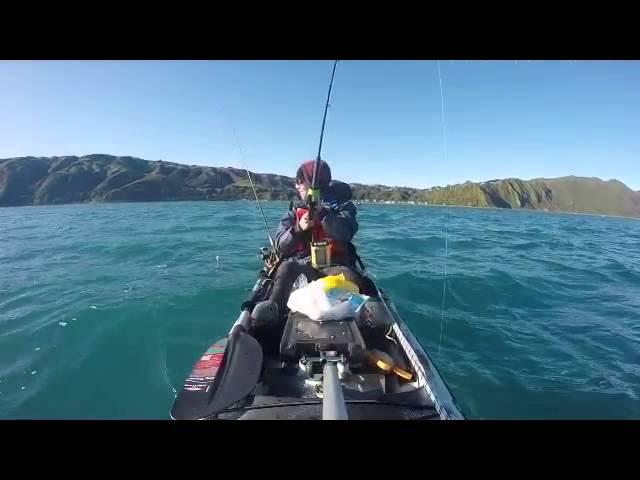 Wellington Kayak Fishing - Trident Ultra 4.3 First Paddle