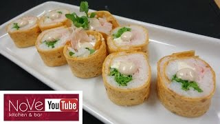 Sushi Wrap Roll - How To Make Sushi Series