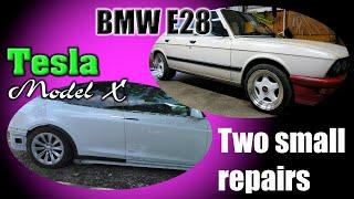 Two short videos, two small repairs. Два коротких видео, два мелких ремонта.