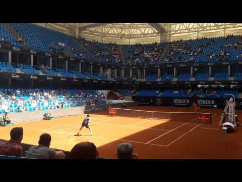 Atp Tour Istanbul Open 2017 Marin Cilic vs Steve Darcis (1.Set last Game 6/1)