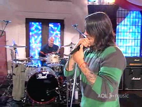 red hot chili peppers - scar tissue aol sessions