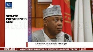 'Emulate Akpabio, Act Honourably' Kwara APC Tells Saraki 11/08/18 Pt.1 |News@10|