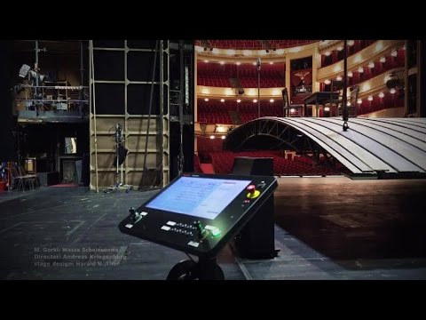 Burgtheater Vienna: Completely overhauled stage technology with Bosch Rexroth control system