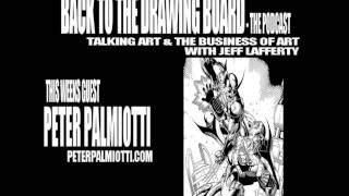 Back To The Drawing Board Podcast - Peter Palmiotti Interview