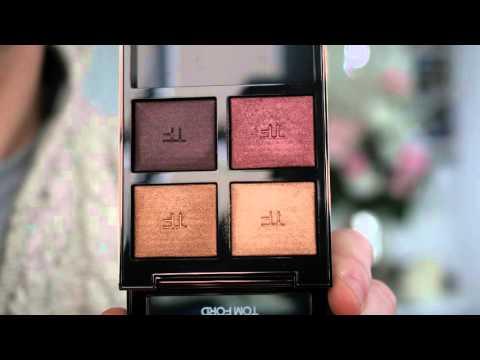 NEW! Up Close - Tom Ford Last Dance & Honeymoon Eyeshadow Swatches