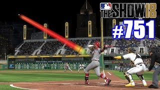 THIS BALL STILL HASN'T LANDED! | MLB The Show 18 | Road to the Show #751