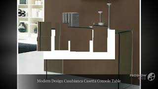 Modern Glass Console Tables Online