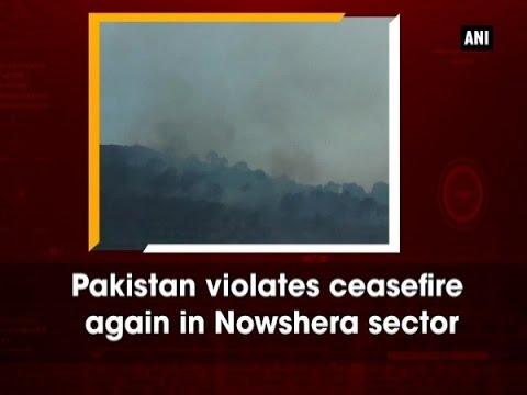 Pakistan violates ceasefire again in Nowshera sector - Jammu and Kashmir News