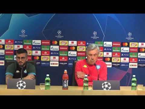 VIDEO IAMNAPLES.IT - La conferenza stampa integrale di Carlo Ancelotti e Lorenzo Insigne