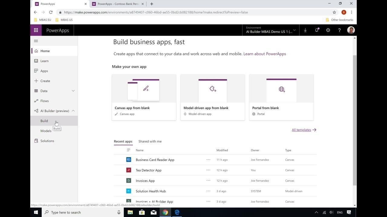 Microsoft PowerApps and Microsoft Flow: Learn how to create AI Builder  models and - BRK2054