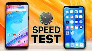 شاهد الهاتف OnePlus 5T يواجه iPhone X في إختبارات السرعة - إلكتروني