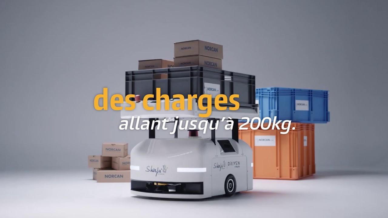 Lien vers la vidéo : <p>Inno Chrono #6 : SHERPA, le robot qui facilite le quotidien dans l'entreprise</p>