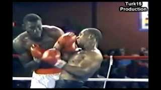 Mike Tyson- Right hook body & Right uppercut head Combination