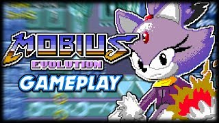 sonic blaze rescue the animals mobius evolution sonic rom hack gameplay