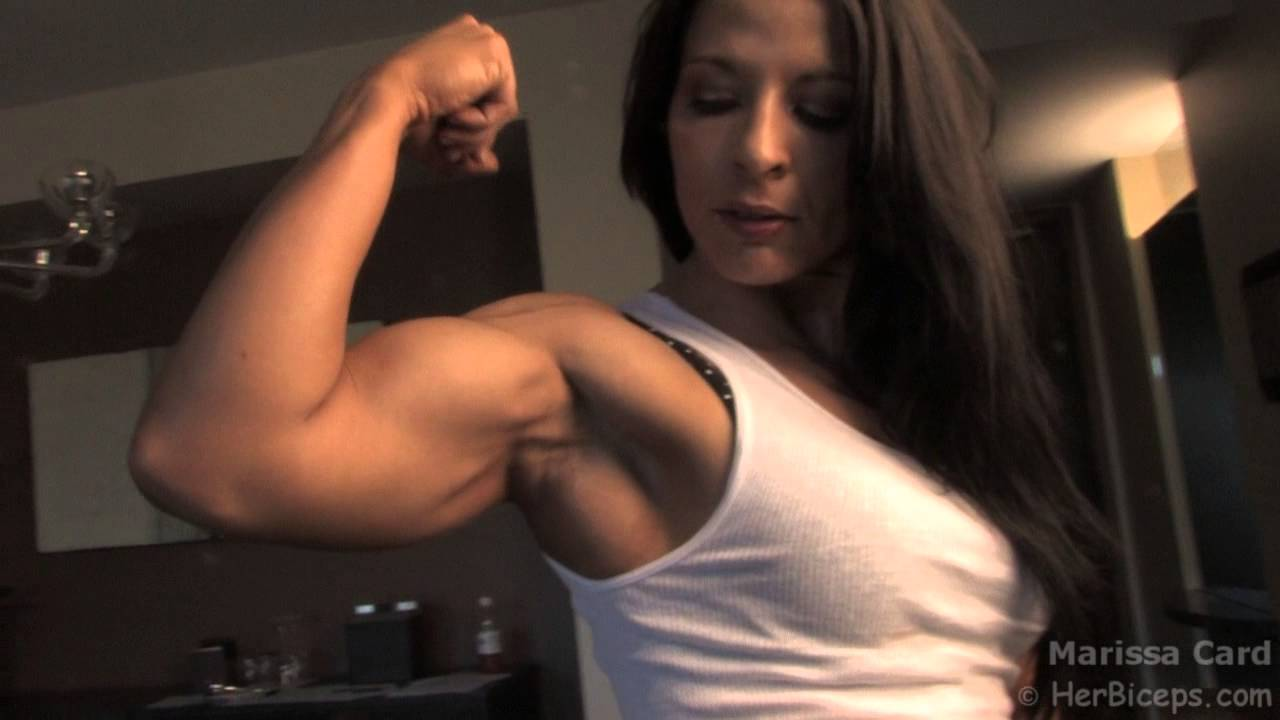 Teens with big biceps