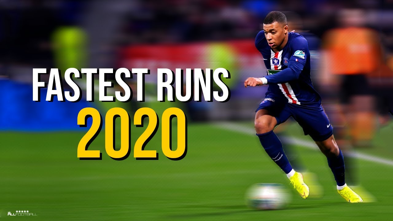 Fastest Sprint Speeds & Runs in Football 2020 | HD
