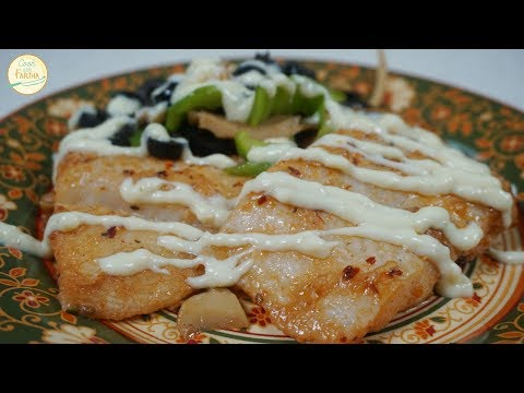 Spicy Fish Steak Recipe - Easy Recipe By Cook With Fariha (2017)