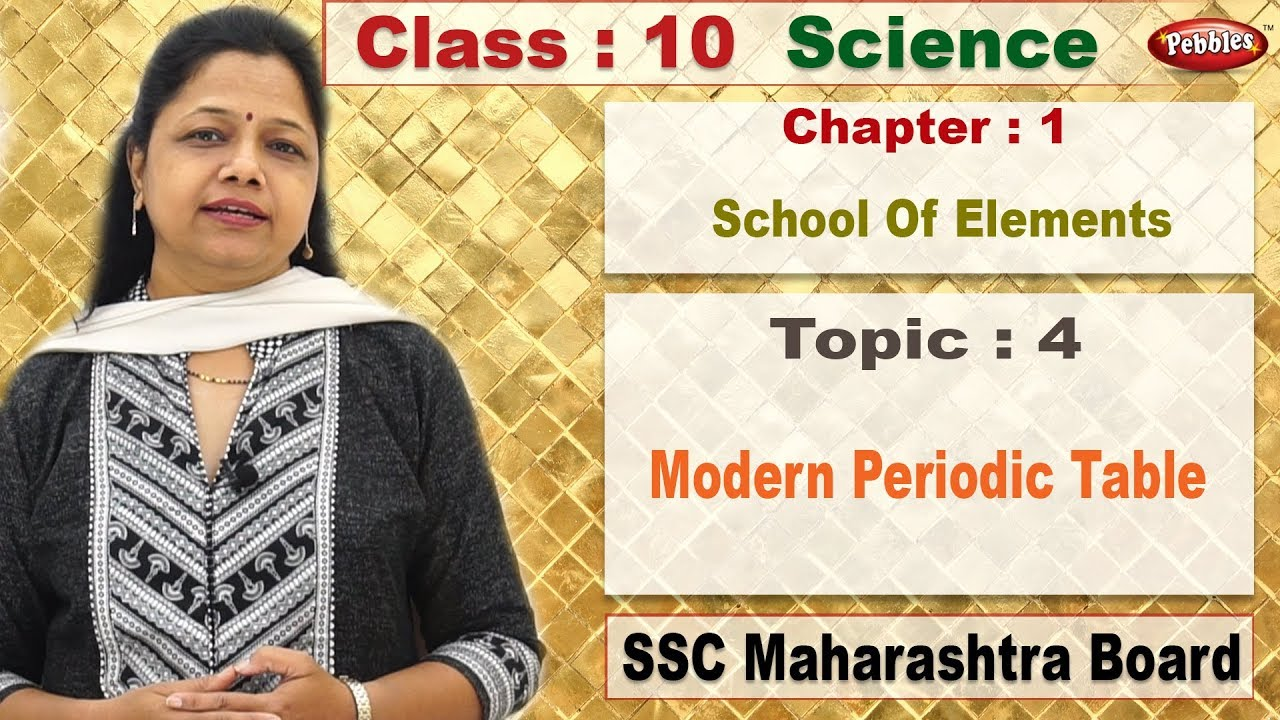 Class 10 science 1 chapter 1 school of elements topic 4 class 10 science 1 chapter 1 school of elements topic 4 modern periodic table urtaz Images