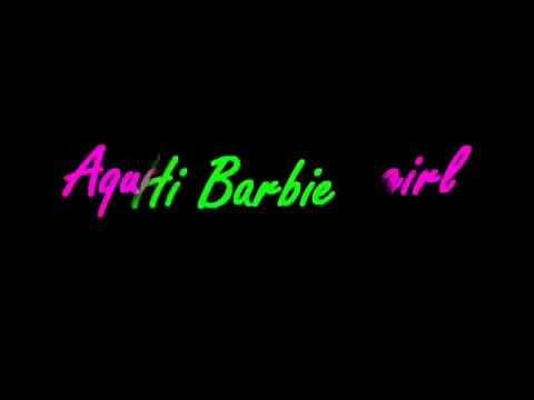 Barbie Girl - Aqua (with lyrics)