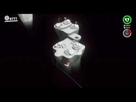 Mario Odyssey Challenge #6 Cappy Roll Jump 45° Winkel