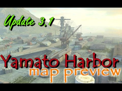 Preview! Yamato Harbor | New Map for Update 3.1 | WoT Blitz