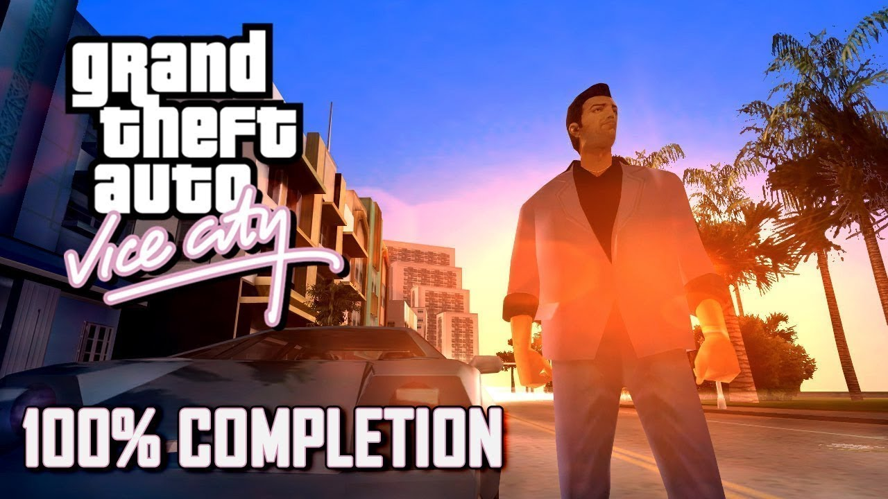 GTA Vice City 100% Completion - Full Game Walkthrough (1080p 60fps)