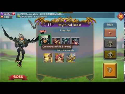 Lords Mobile - Challenge Stage 1-15 F2P