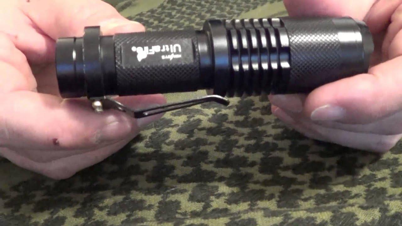 Tragbare wasserdichten 4000 Lumen Zoombare CREE XML-T6 LED-Taschenlampe Fok #KY