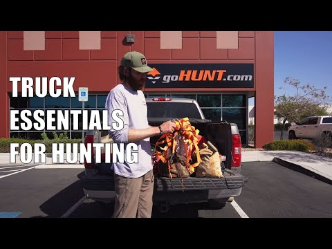 Truck Essentials For Your Hunting Rig