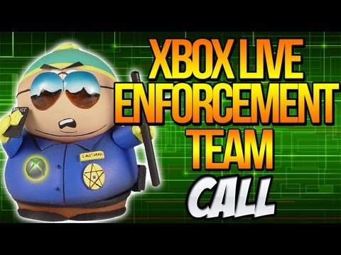 XBOX LIVE ENFORCEMENT TEAM CALL #FreeBurnsy