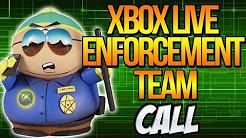 XBOX LIVE ENFORCEMENT TEAM CALL #FreeBurnsy