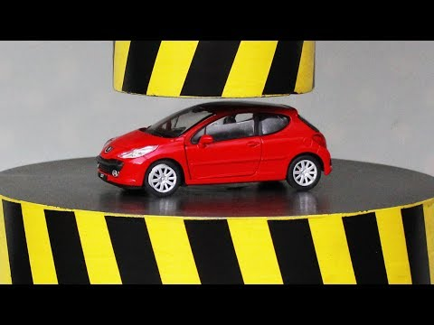 EXPERIMENT HYDRAULIC PRESS 100 TON vs CAR and TOYS