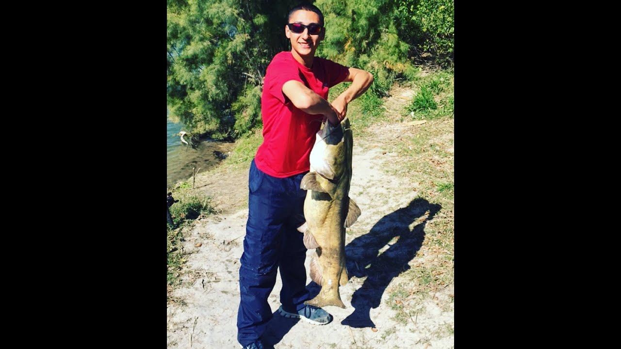 40lb Catfish Rio Grande Laredo, TX