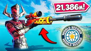 *21,386m* LONGEST KILL IN HISTORY!! - Fortnite Funny Fails and WTF Moments! #1105