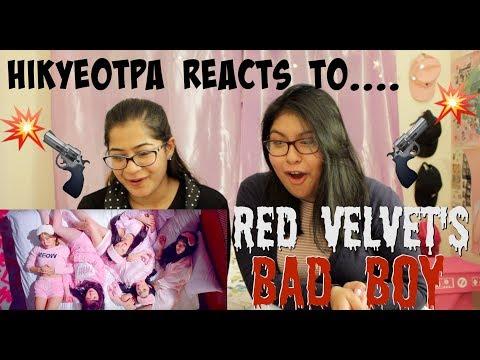 ♪ Red Velvet 'Bad Boy' - HIKyeopta Reacts ♪