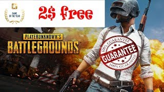 How to get 2$ Dollar Free in PUBG mobile   New Offer   Game of the Year   120 UC  